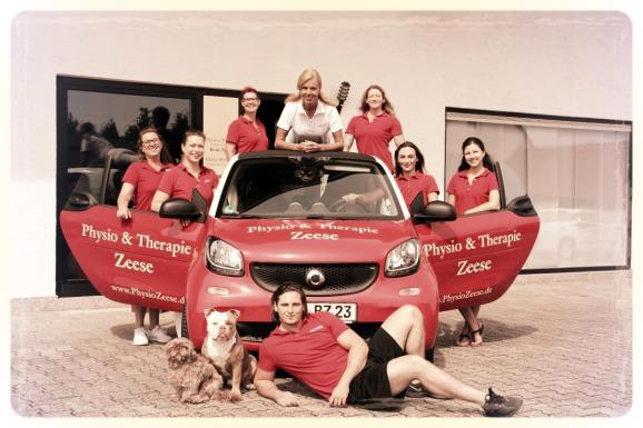 Das Team der Praxis Physio & Therapie Zeese